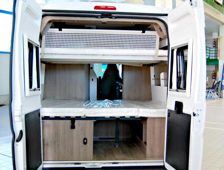 Furgoneta Camper Pilote VE600S Interior